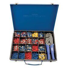 Draper Expert Herramienta que prensa Cable eléctrico y Kit de terminales de 590 - 56383