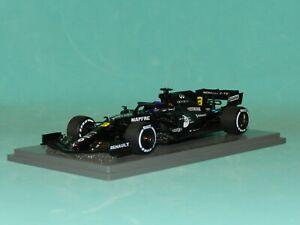 Spark Models 1/43 Renault RS 20 Barcelona Test 2020 Daniel Ricciardo MiB