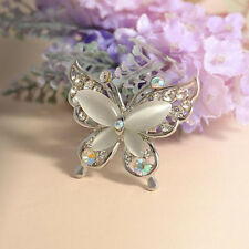 Fashion Jewelry Gold/Silver Brooch Pin Butterfly Brooch Pin Rhinestone Women