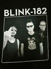 Blink-182 Mark Hoppus Travis Barker Matt Skiba Punk Rock Band Shirt Size Men's M