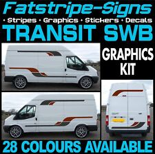 FORD TRANSIT SWB GRAPHICS STICKERS STRIPES DECALS CAMPER VAN MOTORHOME ST SPORT