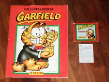Garfield 1989 Complete Panini Sticker Album with a Twist…