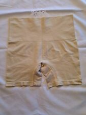 NWOT HSN Yummie Seamless  H. Thomson Brief Boy Shorts Panty Size - Beige - M/L