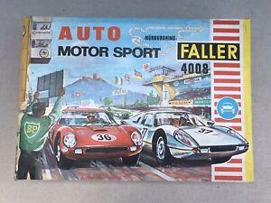 Faller #4008 Nurburgring Slot Car Set As Is