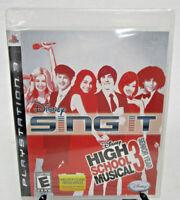 Disney Sing It High School Musical 3 Senior Year Sony PlayStation PS3