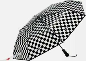 NEW Supreme ShedRain Transparent Checkerboard Umbrella Unopened Ships FREE Today