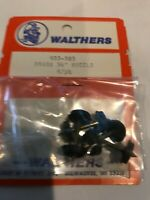 "Walthers HO #933-383 Brass 36"" Wheelsets & Axles - Fits Athearn & Others Freight"