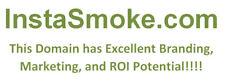 instasmoke.com marketing platform with excellent branding and ROI potential