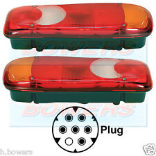 VIGNAL LC5 REAR TAIL LAMPS LIGHTS RENAULT MASTER TRAFIC FIAT DUCATO TIPPER