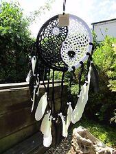 Hand Made Large Yin Yang Crochet Dream Catcher Dreamcatcher Mobile Wall Hanging