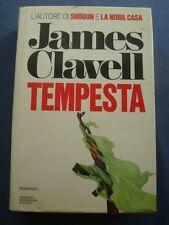 JAMES CLAVELL-TEMPESTA-OMNIBUS MONDADORI-1987 PRIMA EDIZIONE