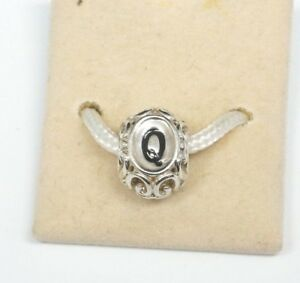 NEW GENUINE CHAMILIA LETTER Q INITIALLY SPEAKING STERLING SILVER .925 CHARM