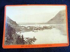 OLD ALBUMEN/CABINET CARD: ZELL AM SEE~STATION~ca 1870~WÜRTHLE & SPINNHIRN