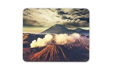 Mount Bromo Volcano Mouse Mat Pad - Java Indonesia Geology Gift Computer #8916