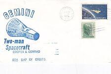 Stati Uniti GEMINI 2 uomo navicella spaziale Cooper/Conrad 8th giorno 28th AGOSTO FDC in buonissima condizione D
