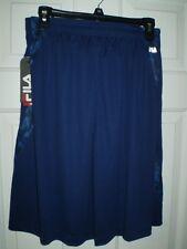 *NWT* Men's Fila Sport Shorts - Wicking - Navy Blue - Size XL