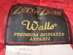 Vintage Walls Zero Zone Coveralls XL Tall Beige