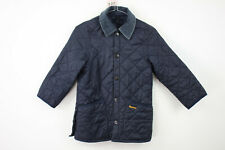 BARBOUR Blue Quilted Jacket size S
