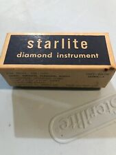 Vintage 1957 Starlite Dental Hygiene Instruments Abrasive Wheel Dentist Tools