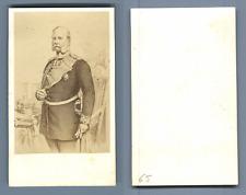 Wilhelm I Vintage albumen  Carte de Visite, CDV, Wilhelm I. (Deutsches Reich)W