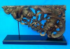 Vintage Chinese China Japanese Japan Dragon Corner Decoration Home Decor Art