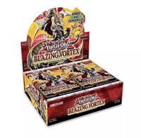 Blazing Vortex Booster Box YuGiOh 1st Edition English NEW SEALED