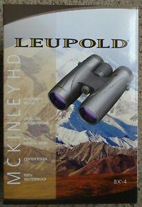 Leupold BX-4 HD 8x42mm Center Focus Roof Prism Binoculars - 119665 - NEW