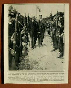 L4a) England 1914 Sir Edward Carson Mr F E Smith inspizieren Mitglied 26x32cm