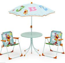 Disney Winnie Pooh Sitzgruppe Tisch Stühle Kindertisch Gartenmöbel Puh Bär 89510