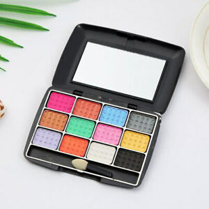 12 Color Colour Eyeshadow Palette with Mirror Ku