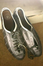 Vintage NOS NEW Gouden Leeuw perforated leather road cycling shoes L'eroica