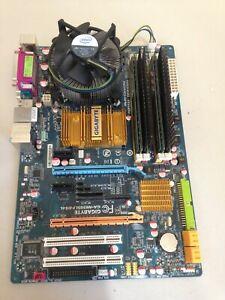 Gigabyte GA-N650SLI-DS4L Motherboard 02 + Intel E4500 + 5Gb DDR2 RAM WORKS