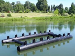 Boot, Katamaran, Pontonboot, Schwimmkörper, Fjordstyle pontoon