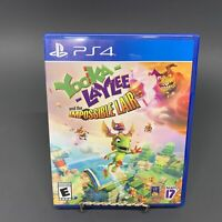 Yooka-Laylee and the Impossible Lair (PlayStation 4 / PS4) Free Shipping
