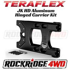 TeraFlex Jeep Wrangler JK 07-17 HD Hinged Tire Carrier No Drilling Needed 4x4
