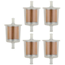 """5* New Motor Inline Gas Fuel Filter Small Engine For 5/16"""" Universal Line"""