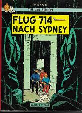 Tim und Struppi Flug 714 nach Sydney - CARLSEN COMIC-ALBUM von 1972 Hergé