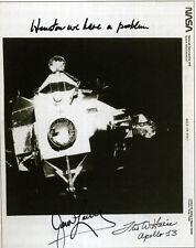 JAMES JIM LOVELL / FRED HAISE Signed NASA Photograph - Apollo 13 - preprint