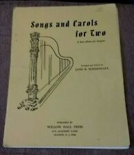 Songs And Carols For Two, Holiday Duets for Harp, Jane B. Weidensaul
