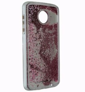 Case-Mate Naked Tough Waterfall Series Case Cover for Moto Z2 Force - Clear Pink