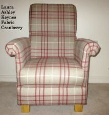 Laura Ashley Checked Armchairs