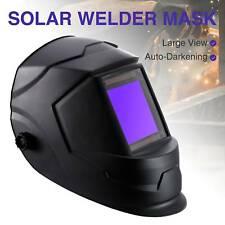 Big View Pro Solar Auto-Darkening Welding Helmet Welder Mask Hood PP Li Battery