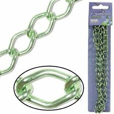The Bead Smith 14.4mm x 9mm Links Aluminum Chain Lime Green - 36 Inches