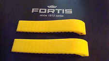 FORTIS GENUINE YELLOW SILICONE STRAP FOR 645 & B-42 MODELS
