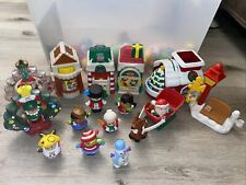 Fisher-Price Little People Christmas Village + Extra Kids!
