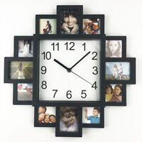 Wall Clock Photo Frame Clock Art Pictures Clock Home Decor Modern Design