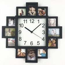 Wall Clock Photo Frame Clock Art Pictures Clock Home Decor Modern Design