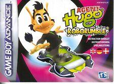 - SPIELANLEITUNG für Agent Hugo - Roborumble - Game Boy Advance Spiel -