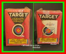 EXTREMELY RARE! WW2 WWII GI? Brown & Williamson Target Cigarette Tobacco Package