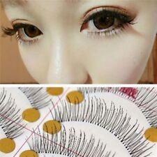 10Pair Natural Thick Long False Eyelashes Fake Eye Lashes Voluminous Makeup Tool